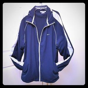 Nike zip up track jacket size XL